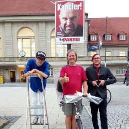 Bundestagswahl 2017 mit Eggs Gildo und Bob